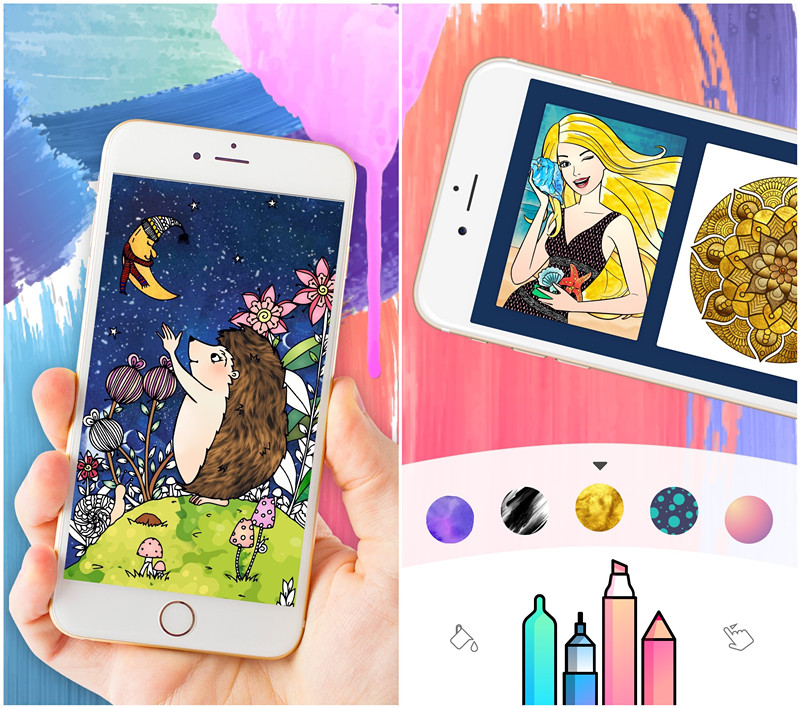 Button Software brings out the Ultimate Coloring app for Adults Image